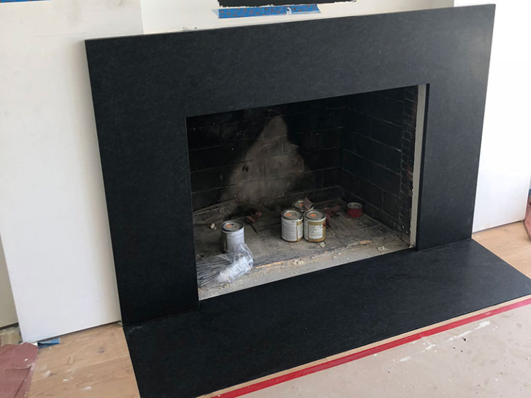 Fireplace Hearth N Surround, Granite
